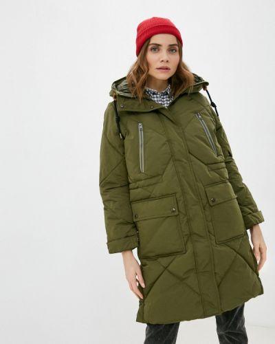 Утепленная зеленая куртка Lee