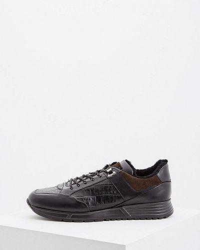 Черные кроссовки низкие Fabi