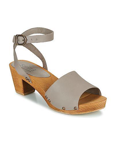 Szare sandały Sanita