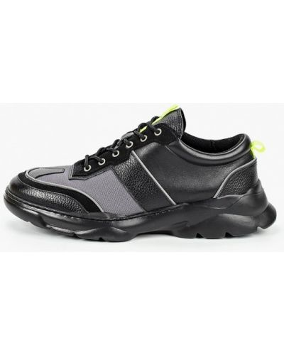 Кожаные черные кроссовки Mascotte