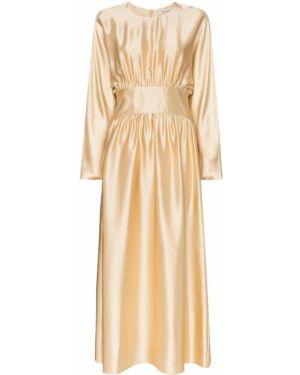 Плиссированное платье макси Deitas