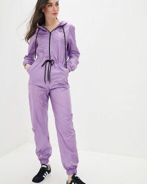 Фиолетовый брючный комбинезон Lilove