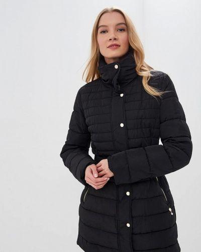 Зимняя куртка утепленная черная Kitana By Rinascimento