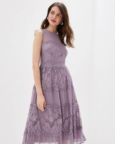 Вечернее платье весеннее фиолетовый Little Mistress