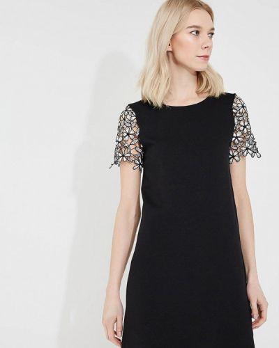 Черное платье прямое French Connection