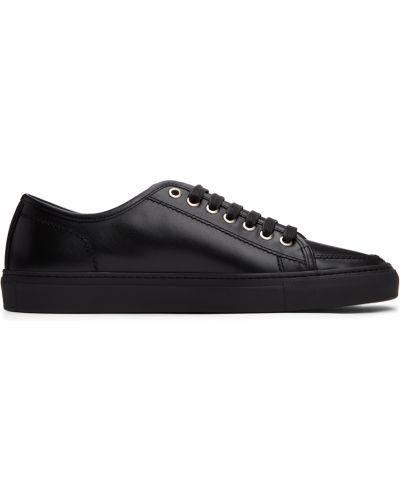 Klasyczne buty sportowe - czarne Brioni