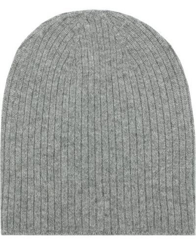 Серая вязаная шапка Johnstons Of Elgin