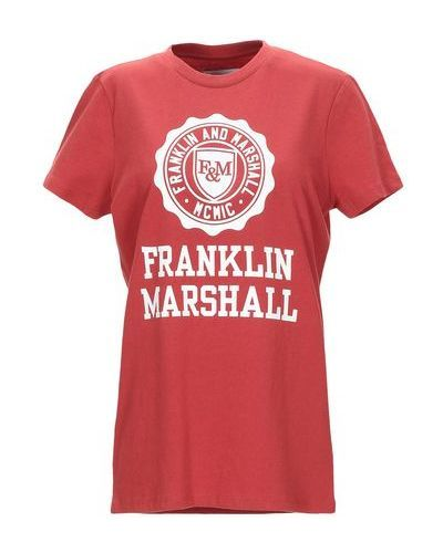 Футболка с логотипом Franklin & Marshall