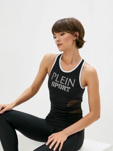 Спортивная майка - черная Plein Sport
