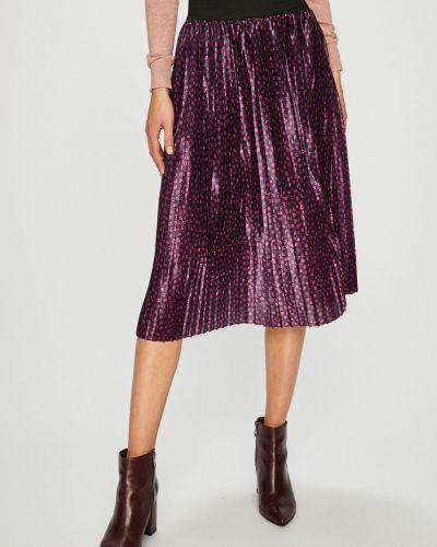 Плиссированная юбка миди широкая Vero Moda