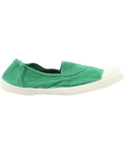 Zielone półbuty Bensimon