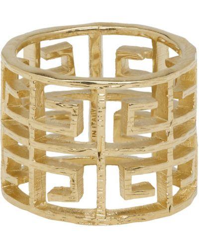 Кольцо с логотипом с узором Givenchy