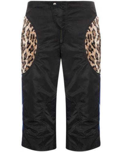 Черные шорты на пуговицах Martine Rose