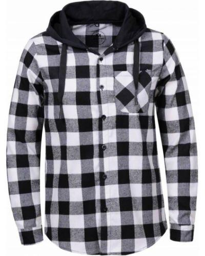 Рубашка в клетку с капюшоном Glo Story