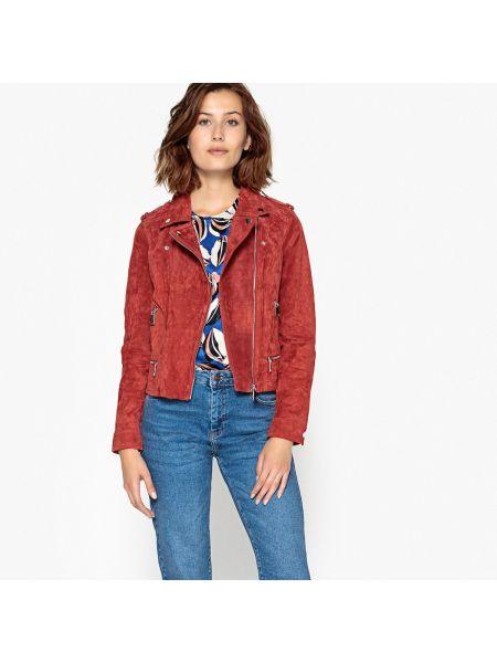 Куртка укороченная замшевая Vero Moda