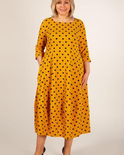 Платье в горошек в стиле бохо Groupprice