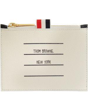 Torebka skórzany czarny Thom Browne