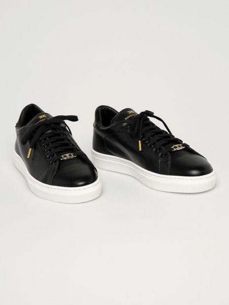 Кожаные ботинки Elisabetta Franchi