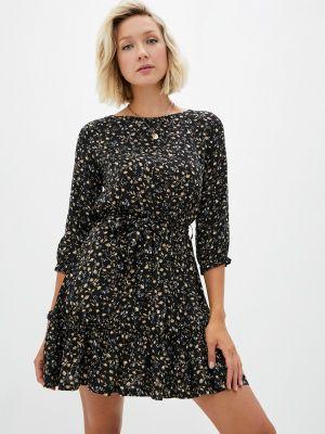 Черное платье летнее Teratai