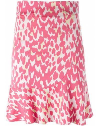 Расклешенная розовая юбка Issa