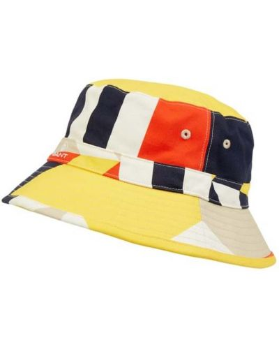 Beżowa czapka bawełniana Gant