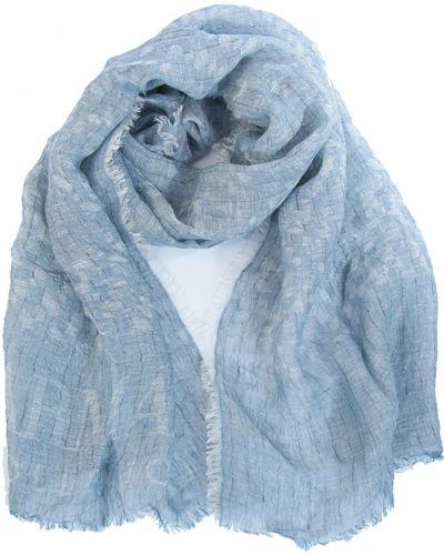 Голубая шаль Armani Collezioni