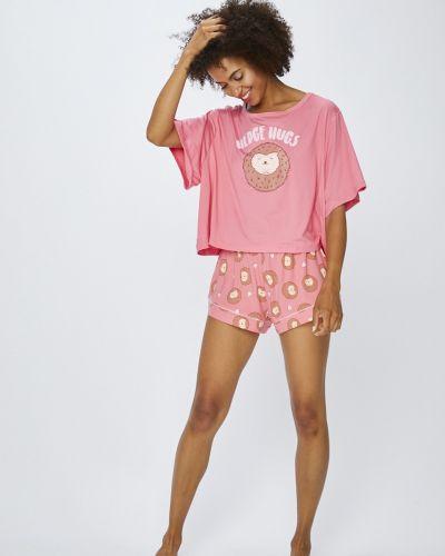 Рубашка с принтом с поясом Chelsea Peers
