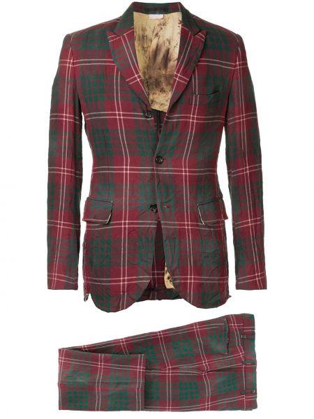 Костюмный костюм свободного кроя на пуговицах с поясом Comme Des Garçons Pre-owned