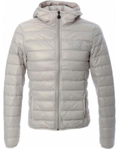 Пуховая куртка - белая Emporio Armani