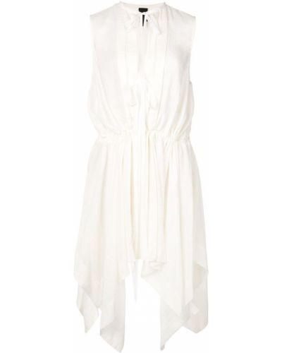 Платье миди - белое Vera Wang