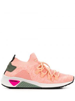 Нейлоновые розовые носки Diesel