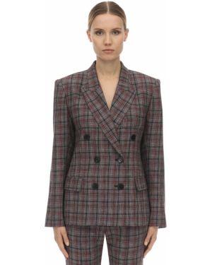 Шерстяной пиджак - серый Isabel Marant