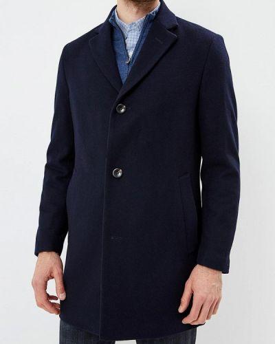 Синее пальто осеннее Daniel Hechter