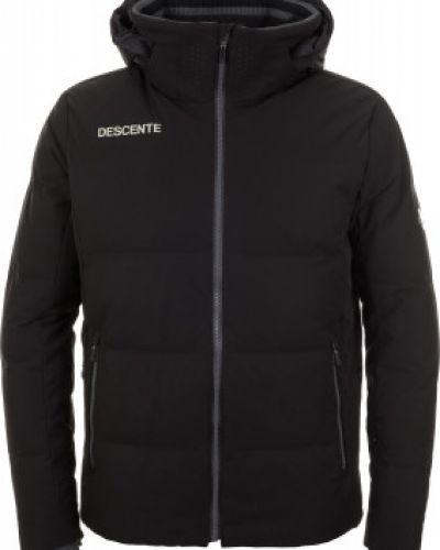 Куртка с капюшоном спортивная с манжетами Descente