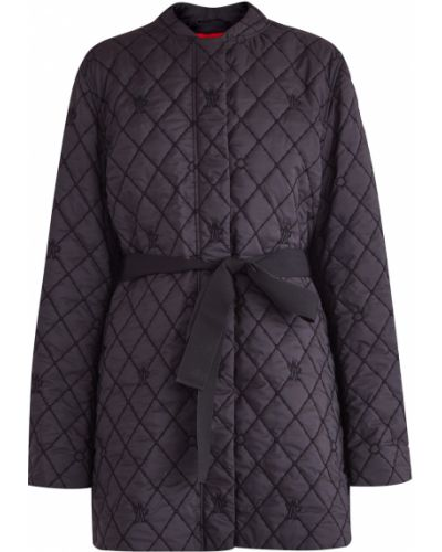 Длинная куртка из плотной ткани Moncler