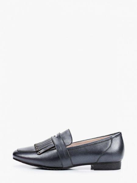 Кожаные туфли черные Pierre Cardin