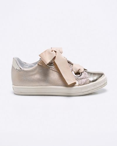 Кроссовки кожаные на шнуровке Kornecki