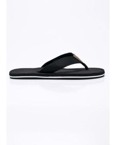 Черные сандалии текстильные S.oliver