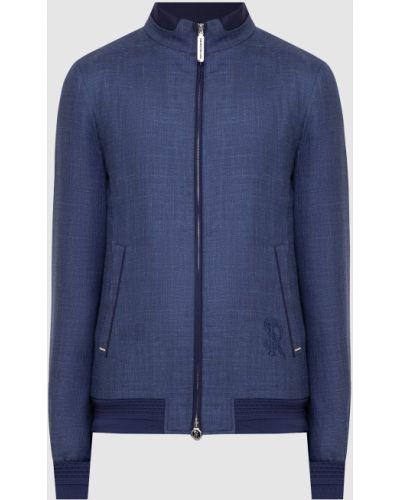 Кашемировая куртка - синяя Stefano Ricci