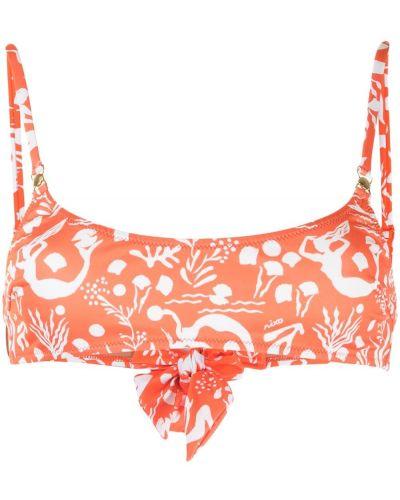 Pomarańczowy bikini Rixo