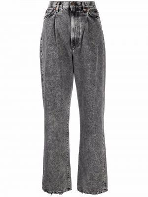 Прямые джинсы классические - черные 3x1