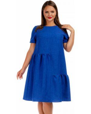 Летнее платье мини повседневное Liza Fashion