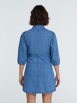 Платье - синее Piazza Italia