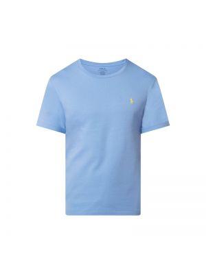 Niebieski t-shirt bawełniany Polo Ralph Lauren