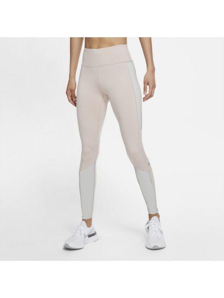 Szare legginsy do biegania Nike