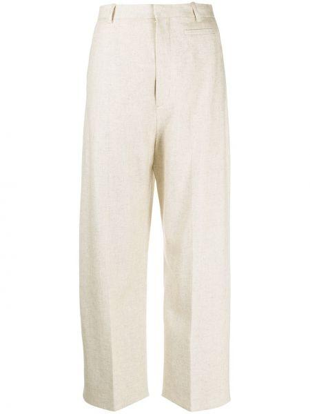 Bielizna bawełna spodni przycięte spodnie z paskiem Jacquemus