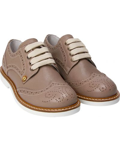 Бежевые туфли Cesare Paciotti