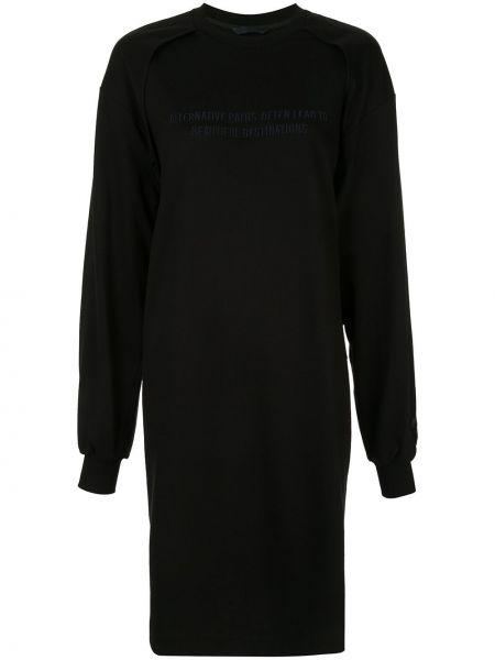 Платье миди платье-толстовка прямое Juun.j