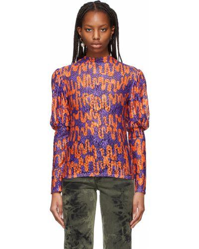 Koszula koronkowa - fioletowa Collina Strada