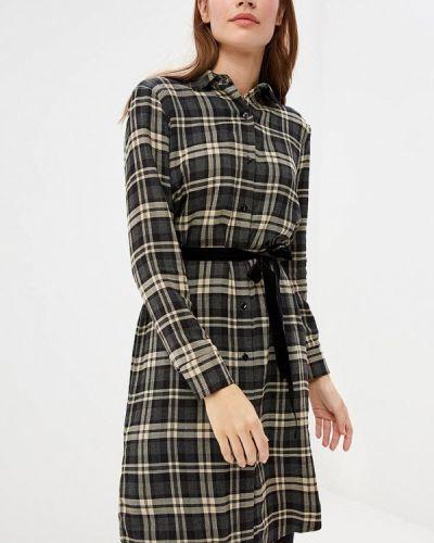 Платье платье-рубашка осеннее Miss Miss By Valentina